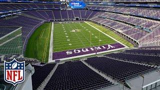 Tour of the new U.S. Bank Stadium