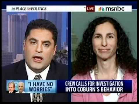 Melanie Sloan discusses Senator Coburn's role in the John Ensign scandal