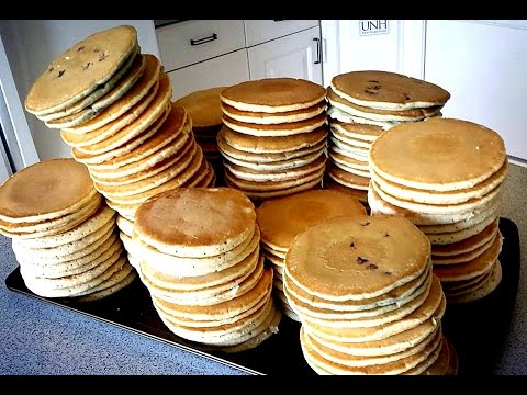 113 Pancakes Eaten in 8 Minutes New World