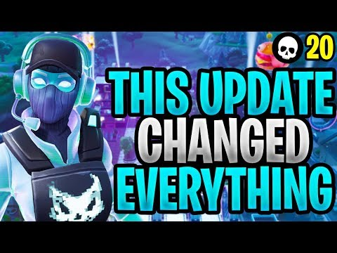 This New Fortnite Update Just Changed EVERYTHING... (Fortnite Content Update 9.30 #1)