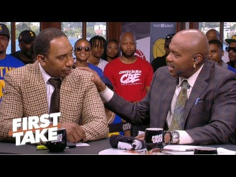 Tim Hardaway tells Stephen A. to 'calm down' about Kevin Durant and free agency | First Take