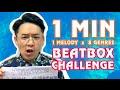 【BEATBOX CHALLENGE】60 Secs × 1 Melody × 8 Genres