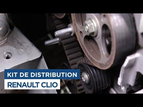 Changer le kit distribution et la pompe à eau - Renault Clio 2