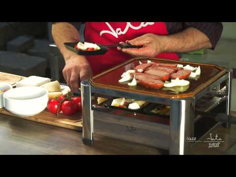 Video: Stolní raclette gril Jata GT 402