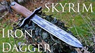 Video Dagger Making - Skyrim: Forging a Real Iron Dagger (Made of Steel) MP3, 3GP, MP4, WEBM, AVI, FLV Desember 2018