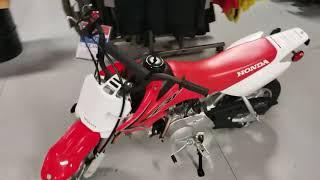 3. 2019 Honda CRF50F