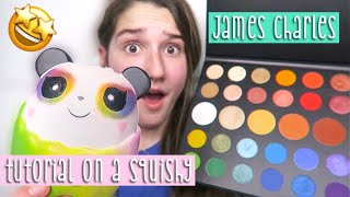 I Tried To Follow A James Charles Tutorial On A Squishy...