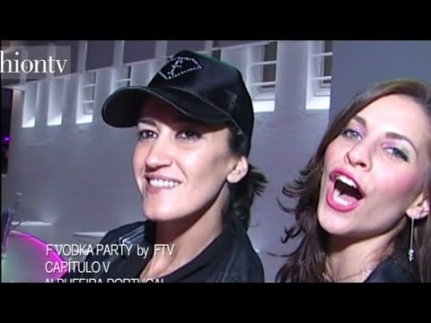 F Vodka Party with FashionTV at Capitulo V – Portugal