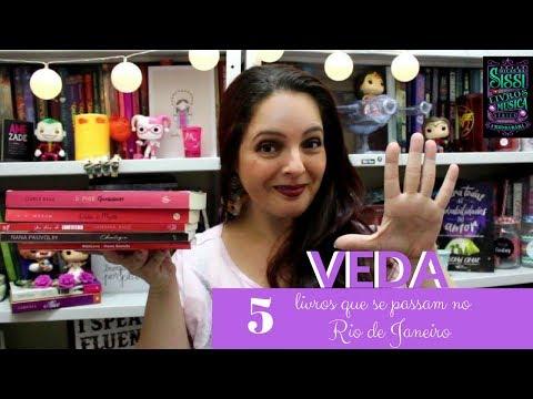 VEDA #03 - 5 Livros que Se Passam no Rio de Janeiro - Dicas da Sissi
