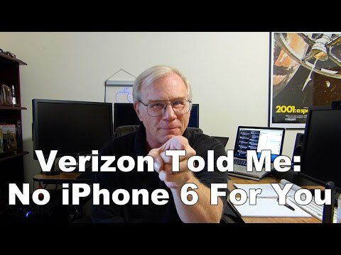 #Verizon Told Me No iPhone 6 For You!