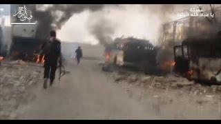 ثوار دمشق يسيطرون على نقاط جديدة بعد كراجات العباسيين..وتدمير دبابات للنظام بحماه