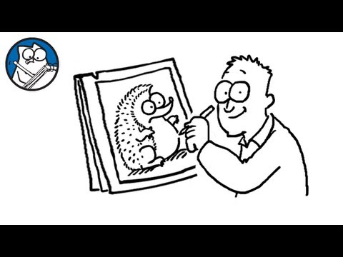 Simon Draws the Hedgehog