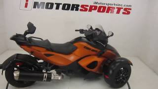 9. 2011 Can-Am® Spyder Roadster RS-S @ iMotorsports A2658