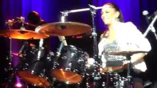 Courbevoie France  city photos : Sheila E Drums Solo April 2nd 2015, Courbevoie (France)