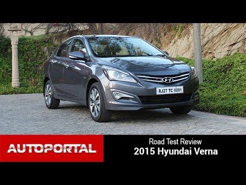 2015 Hyundai Verna Test Drive Review – Autoportal