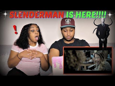 """SLENDER MAN"" - Official Trailer REACTION!!!"