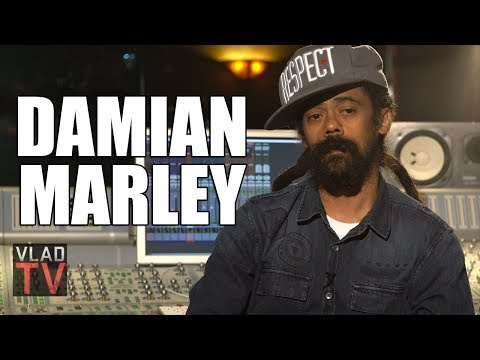 "Damian Marley on Working with Jay-Z on ""Bam"", Jay-Z Singing the Original Chorus (Part 5)"