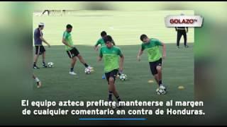 El equipo azteca no se siente cómodo por el rendimiento que ha tenido en la Copa Oro y es por eso que llega tenso al juego del...