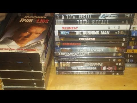 My Arnold Schwarzenegger Movie Collection Part 1