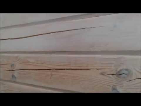 Ошибки нанесения и контроль слоя Масловоск Анта на стене дома