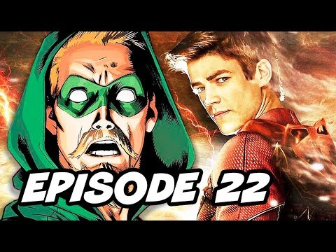 Arrow Season 4 Episode 22 - TOP 5 WTF The Flash Finale and Easter Eggs
