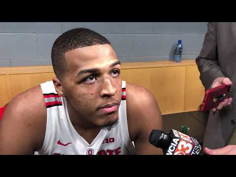 Kaleb Wesson discusses returning from his suspension in the Big Ten Tournament win against Indiana
