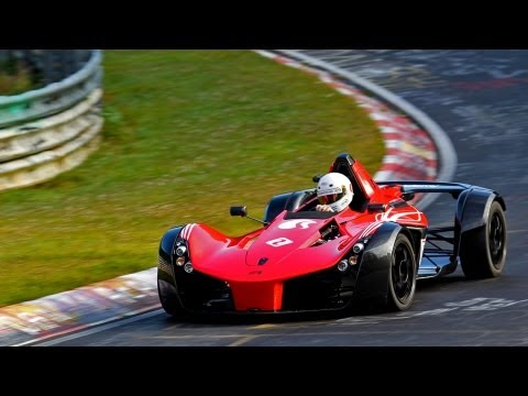 BAC Mono (2x) - 280 bhp/540 kg! - On the Nurburgring - Grantursimo Events 2012 - 1080p