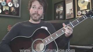 Guitar Lessons - Let It Be by The Beatles - chords lesson Beginners Acoustic songs