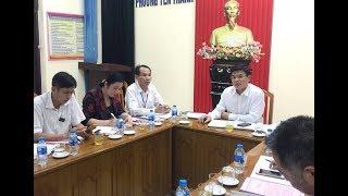 UBND thành phố làm việc với phường Yên Thanh