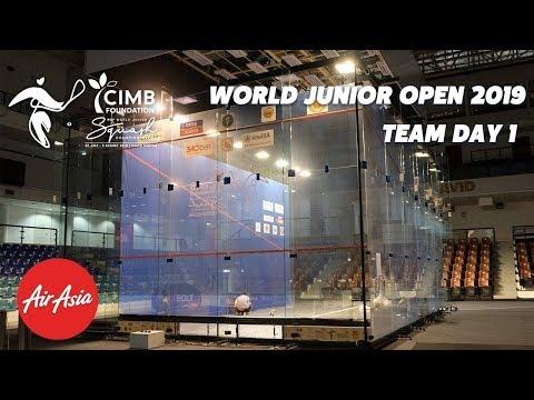 WSF World Junior Open 2019 - England v South Africa Teams Livestream