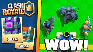 WOW! THEY ARE BACK! :: Clash Royale :: EPIC CHEST AND GIANT CHEST OPENING!