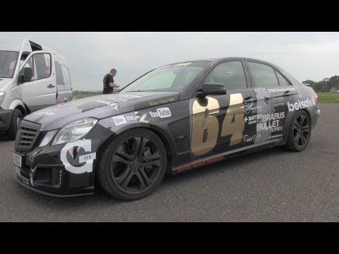 Brabus EV12 on Topgear track