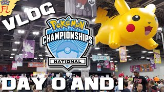 Pokemon US National Championships 2016 Vlog - Day 0 and 1 - WE HAVE ARRIVED! by Flammable Lizard