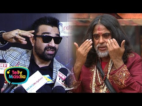 Ajaz Khan Wants To Slap Swami Om | ANGRY REACTION