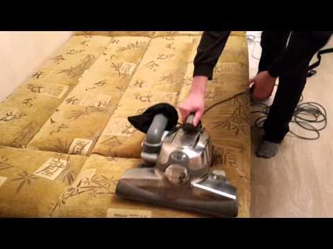 Как сделать химчистку пылесосом кирби