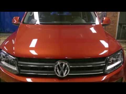 Volkswagen Amarok 2015 покрытый кварцевым стеклом Hikari Diamond в студии Auto Charm Exclusive.