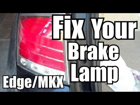 Quick Brakelight/Turn Signal Replacement – Ford Edge/Lincoln MKX – 2007-10