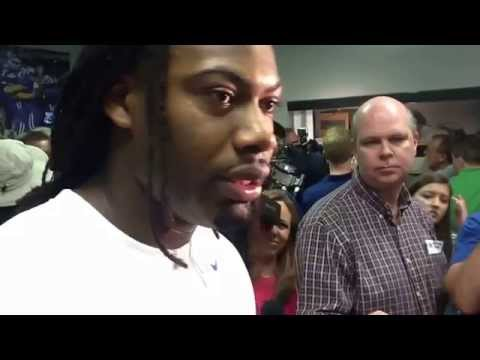 Za'Darius Smith Interview 4/26/2014 video.