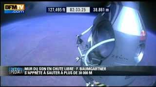 Le saut record de Felix Baumgartner-Red Bull Stratos- Youtube