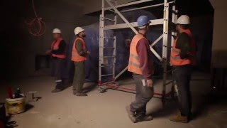 Main exhibition construction video