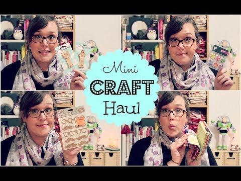 Mini Craft Haul | 3and3quarters