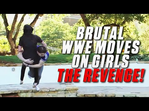 Brutal WWE Moves On Girls – THE REVENGE!