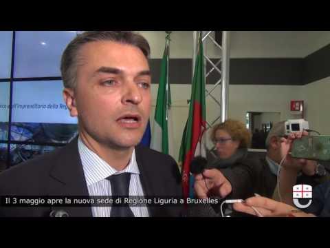 IL 3 MAGGIO APRE LA SEDE DI REGIONE LIGURIA A BRUXELLES