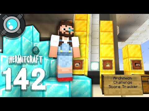 HermitCraft 6: 142 | Sahara is making DIAMONDS!