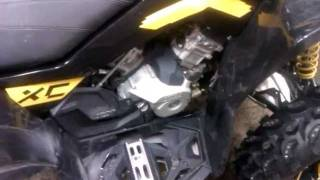 11. Can-Am Renegade/Outlander Engine Oil Change, How to