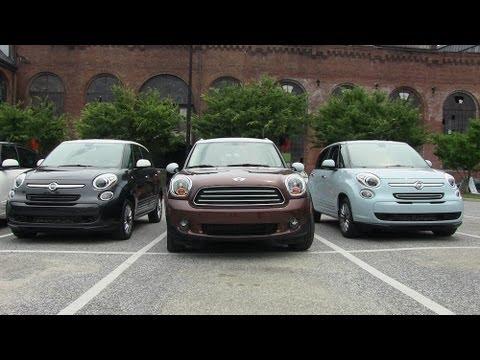 2014 FIAT 500L vs. MINI Countryman vs. Scion XB vs KIA Soul vs Nissan Cube Matchup Review