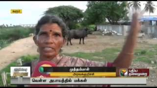 Faulty shutters of Chinna Muthur dam in Thirupur leaves Karur villages in danger of being flooded