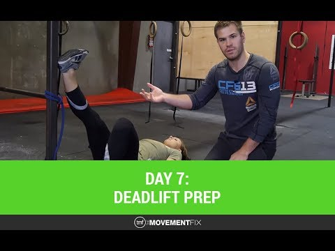 CrossFit Deadlift Mobility