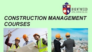 Construction Management - Diploma Level 5