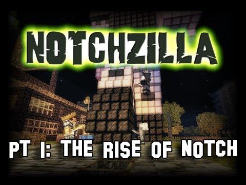 Minecraft Notchzilla Pt. 1 The Rise Of Notch (Stop Motion)